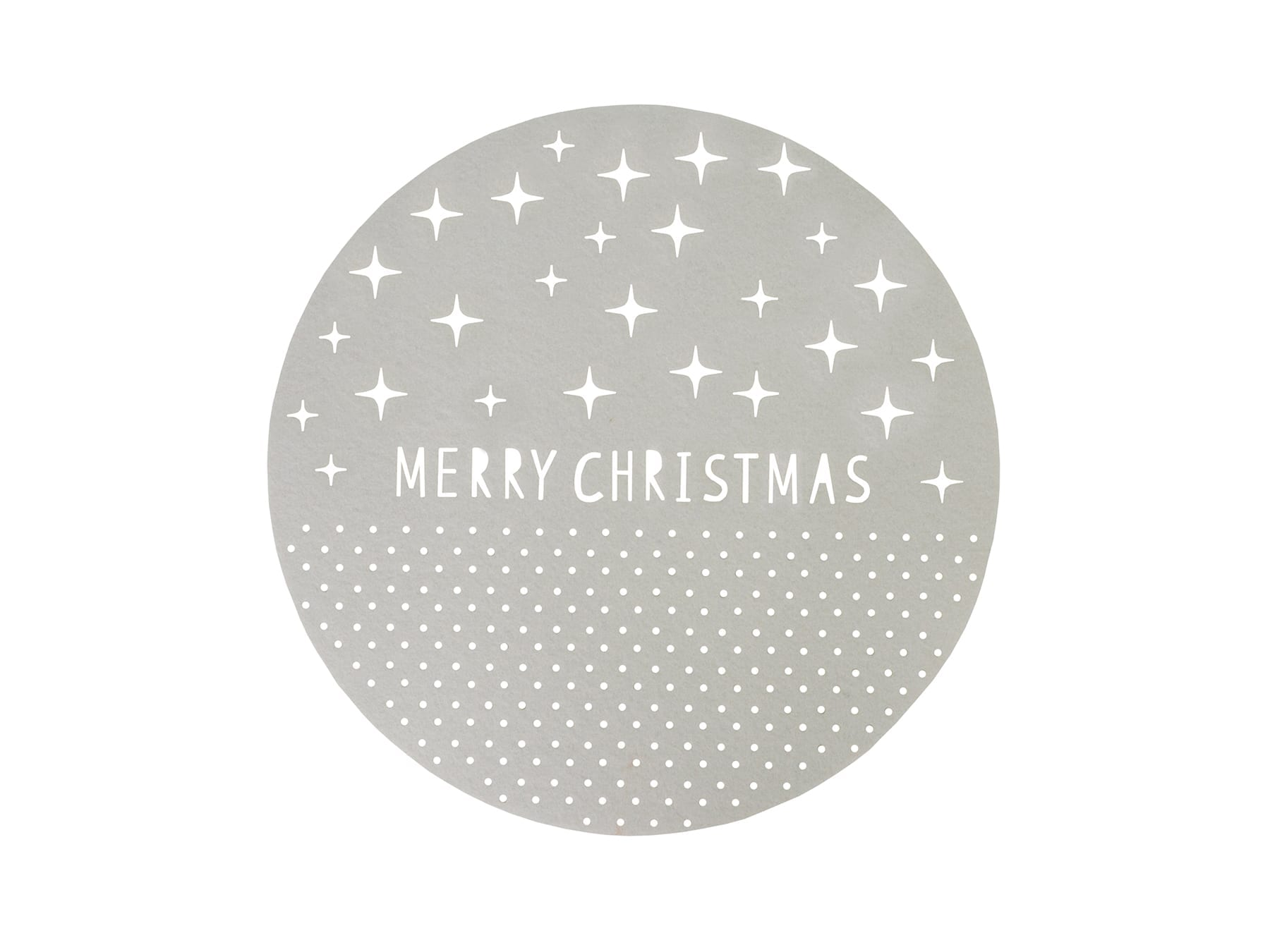 Linens & More Christmas Merry Christmas Felt Placemat available at McKenzie & Willis