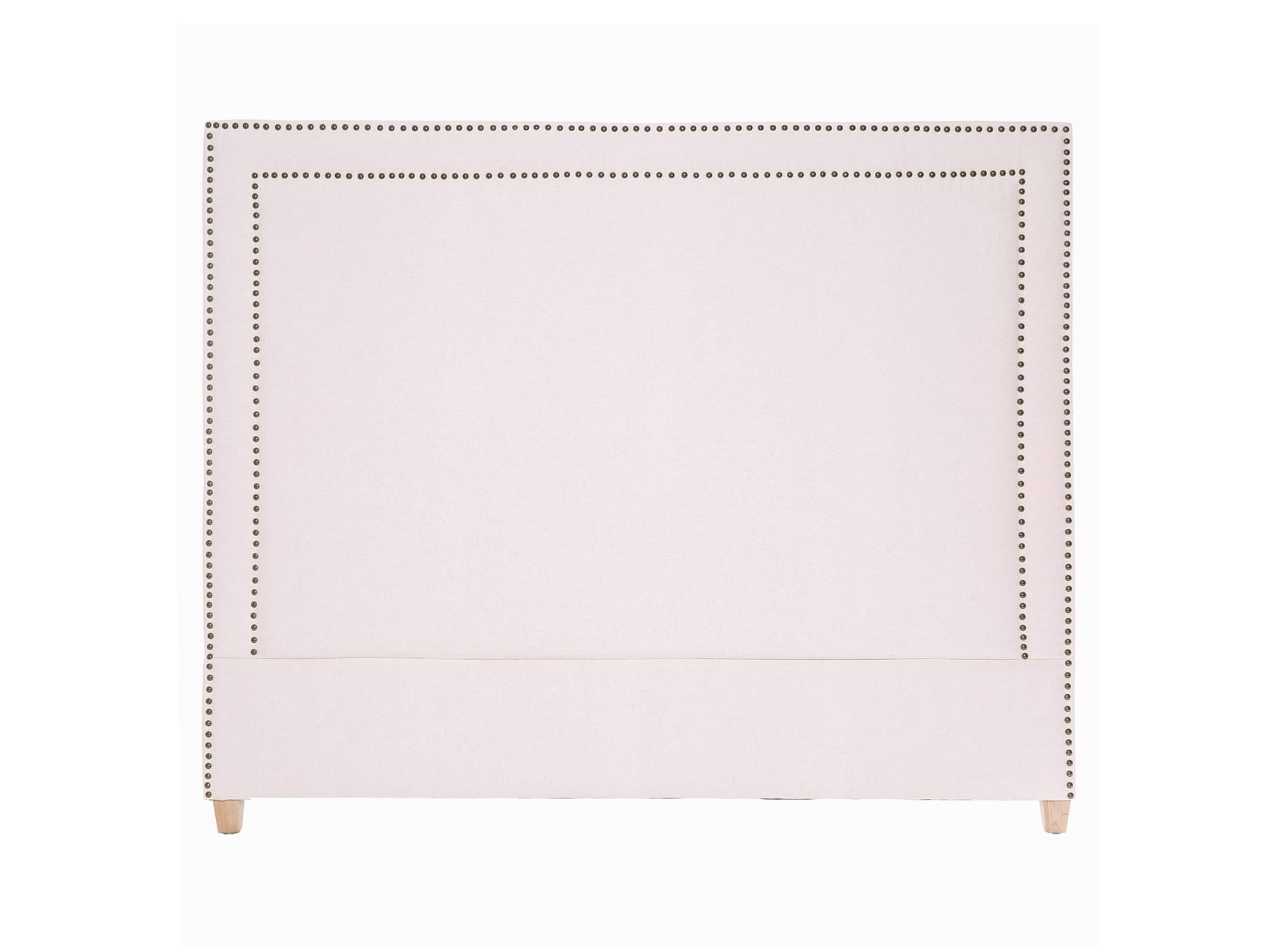 Linens & More George Headboard in Natural Linen available at McKenzie & Willis