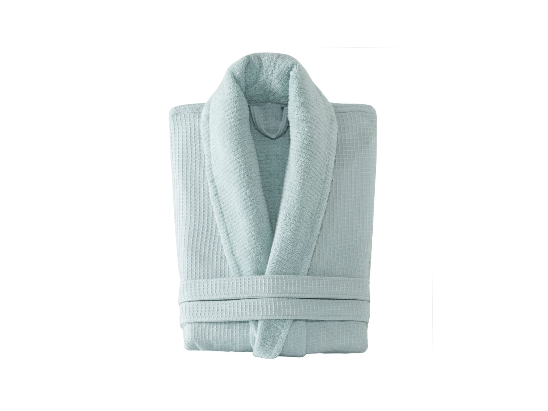Linens & More Turkish Cotton Bathrobe in Mint available at McKenzie & Willis