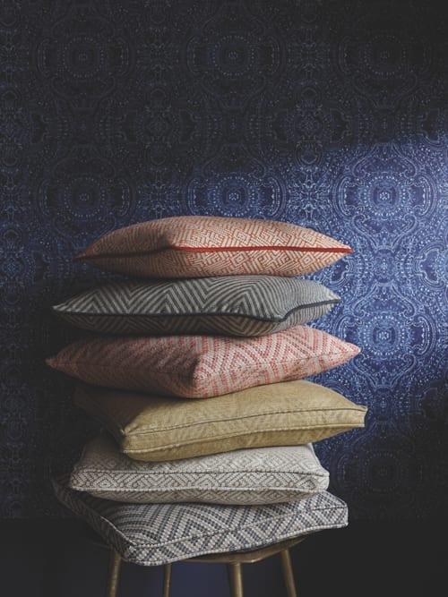 Linwood Fable Tanuki Zeus Kitsune Fabric 1