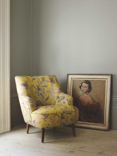 Linwood Fable Uhura Yellow Fabric 1