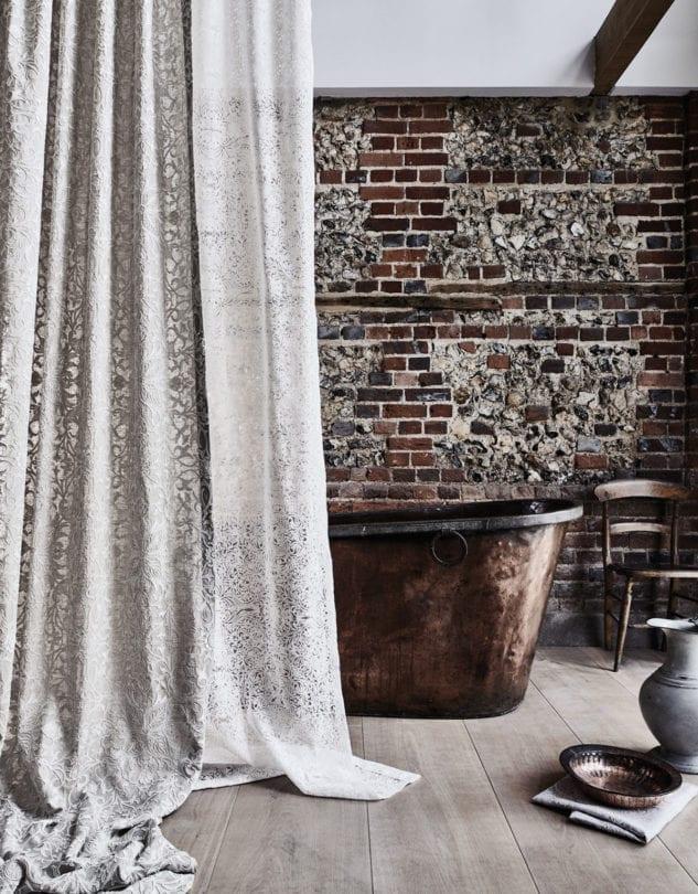 Morris Co Pure Pure Net Ceiling Applique Fabric 1 633x810