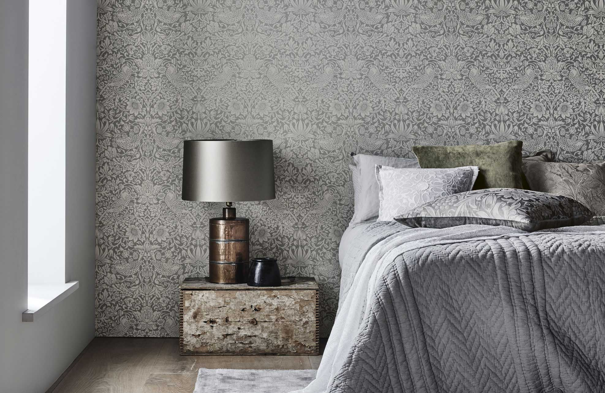 Morris Co Pure Wallpaper Collection Mckenzie Willis