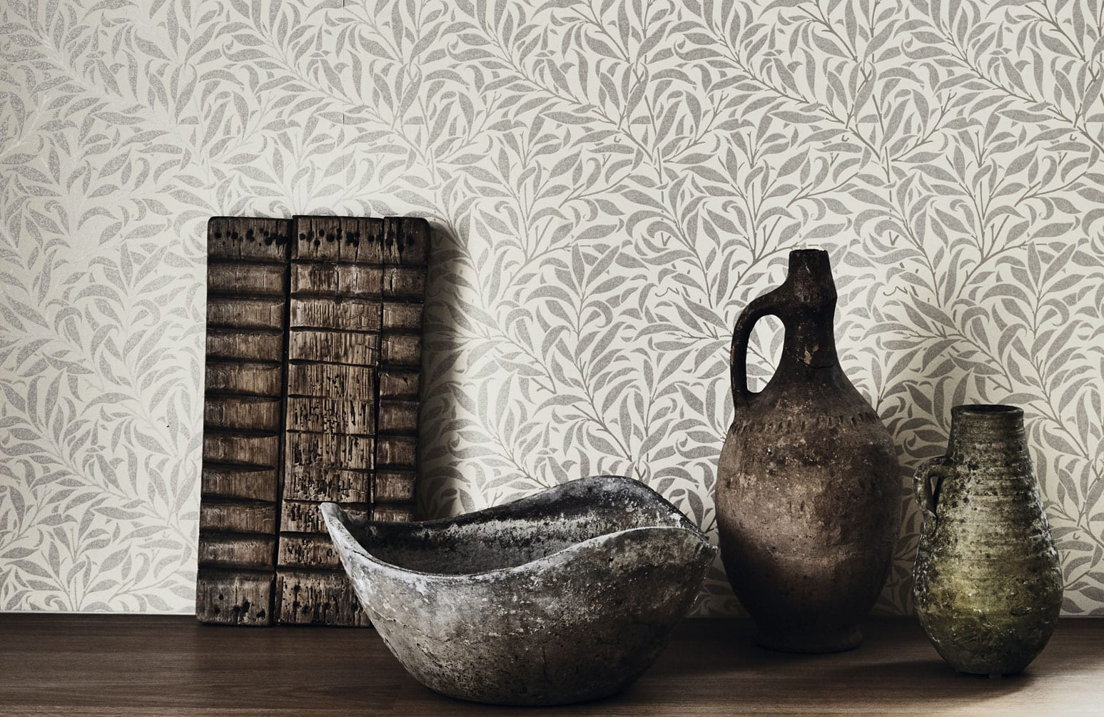 Morris & Co Pure Wallpaper Collection available at McKenzie & Willis