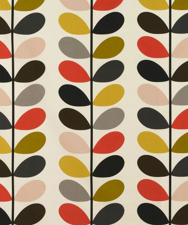 Sekers Orla Kiely Fabric Collection - Multi Stem