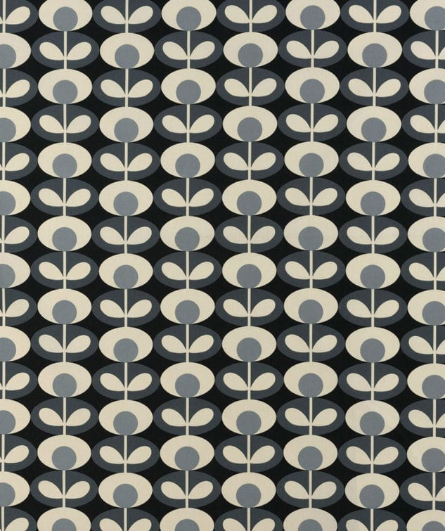Sekers Orla Kiely Fabric Collection - Oval Flower