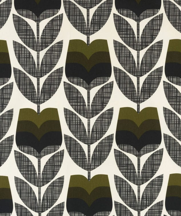 Sekers Orla Kiely Fabric Collection - Rosebud