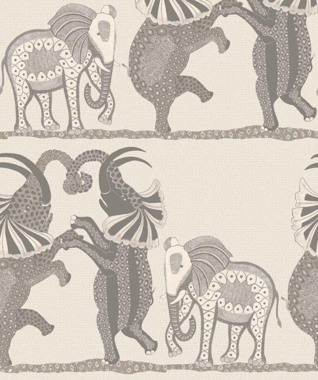 Cole & Son Ardmore Wallpaper Safari-Dance