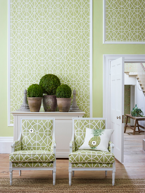 Sanderson Art of the Garden Fabric Collection