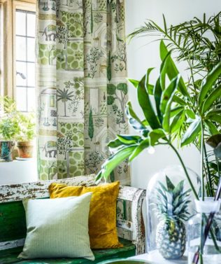 Sanderson Art of the Garden Fabric Collection available at McKenzie & Willis