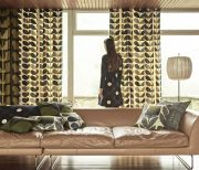 Sekers Orla Kiely Fabric Collection available at McKenzie & Willis