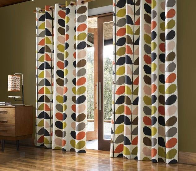 Sekers Orla Kiely Multi Stem Fabric 4 633x552