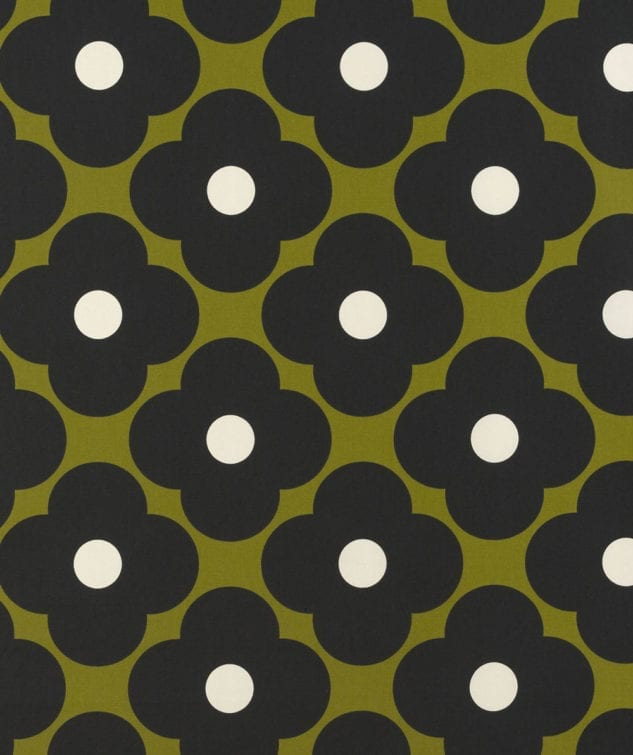 Sekers Orla Kiely Fabric Collection - Spot Flower