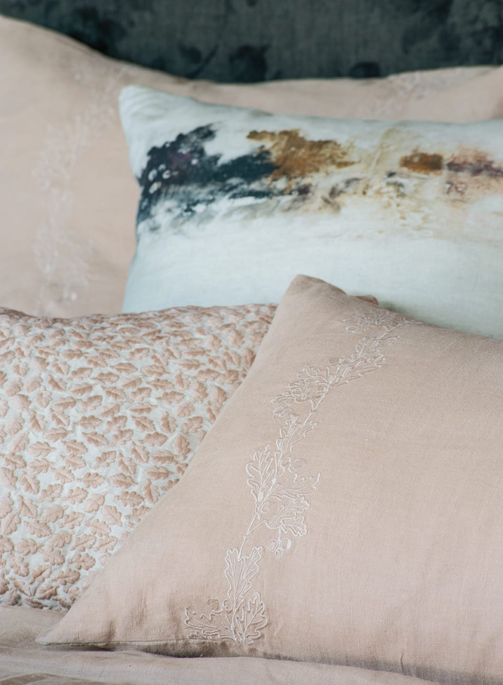 Bianca Lorenne Bellota Vintage Rose Bedcover available at McKenzie & Willis