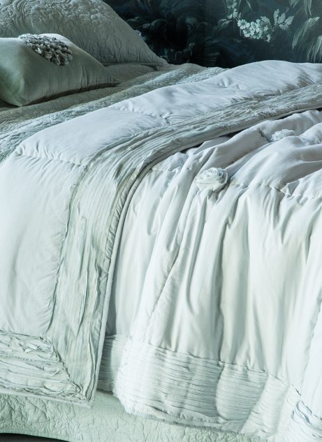 Bianca Lorenne Bloom Comforter duck egg