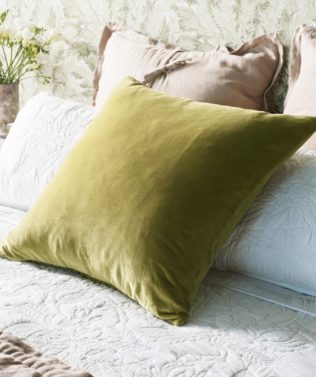 Bianca Lorenne Folia chartreuse eurocase available at McKenzie & Willis
