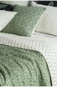 Bianca Lorenne Tralice Coverlet available at McKenzie & Willis