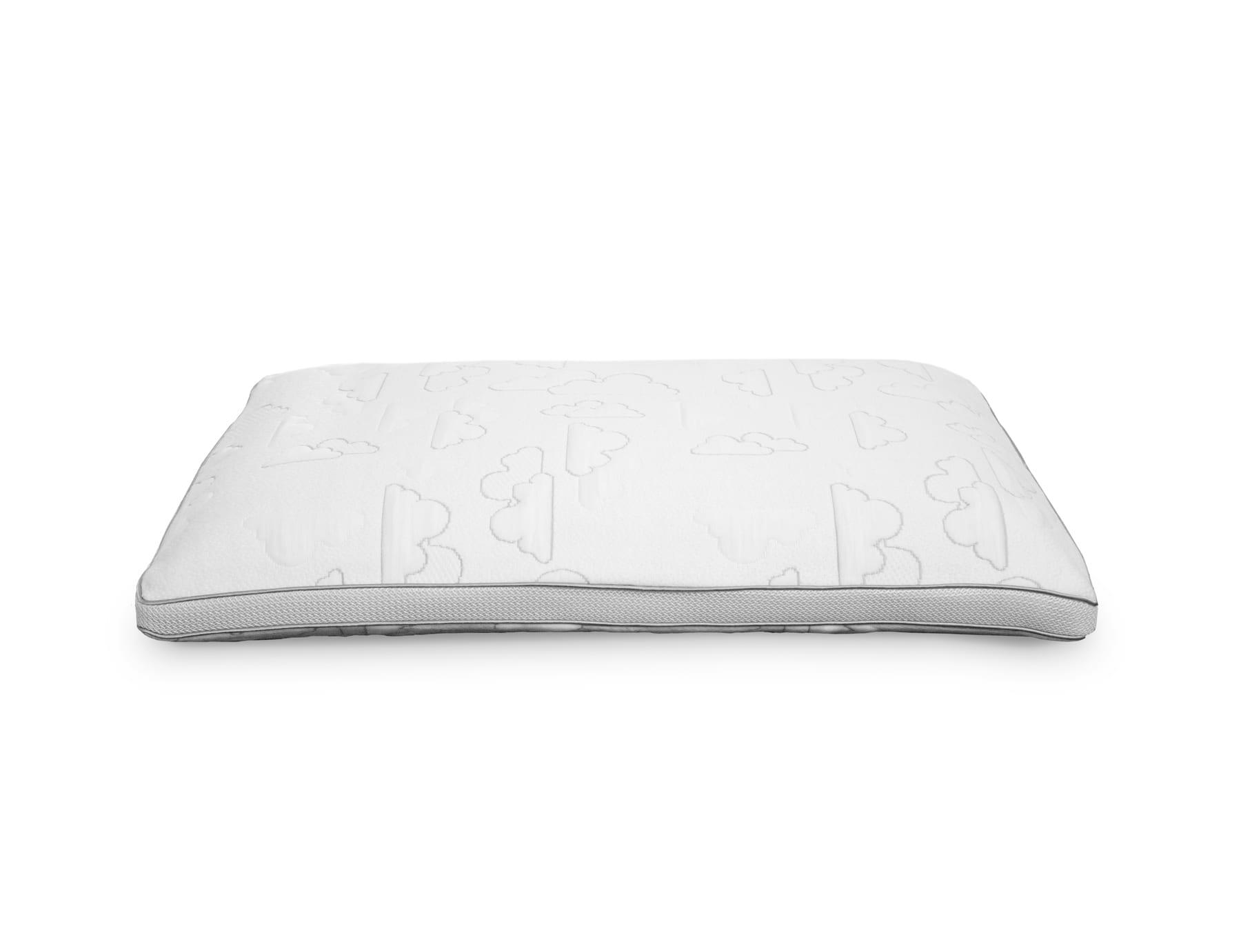 Sleepmaker Comfort Temp Fusion Gel Memory Foam Pillow Low Profile
