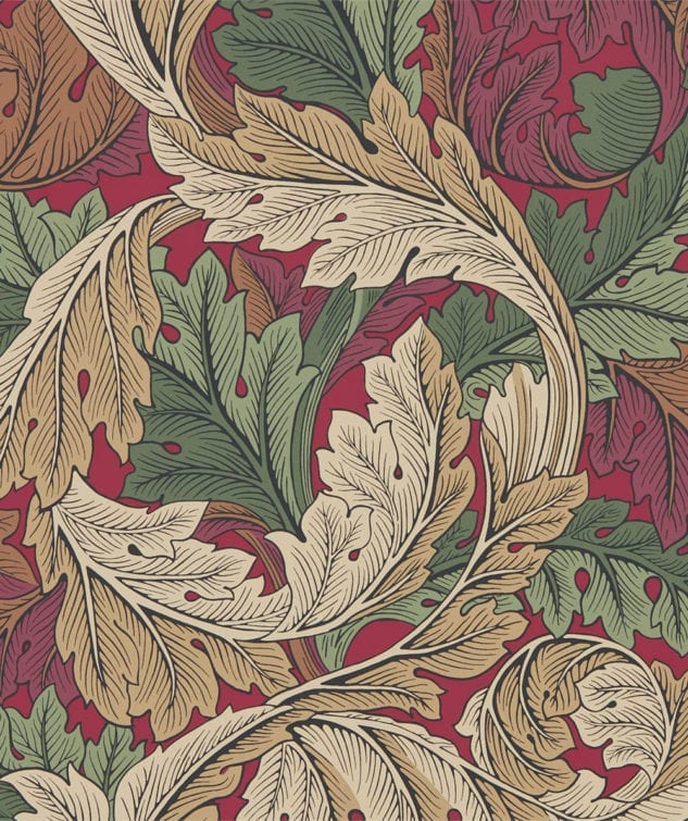Morris & Co Archive IV The Collector Wallpaper Acanthus
