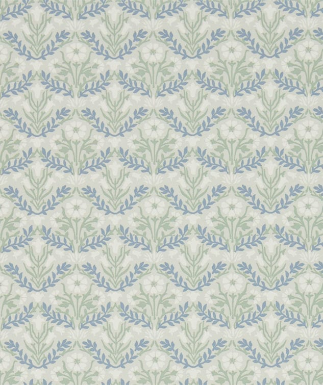 Morris & Co Archive IV The Collector Wallpaper Bellflowers