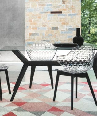 Calligaris Saint Tropez W Dining Chair 316x377