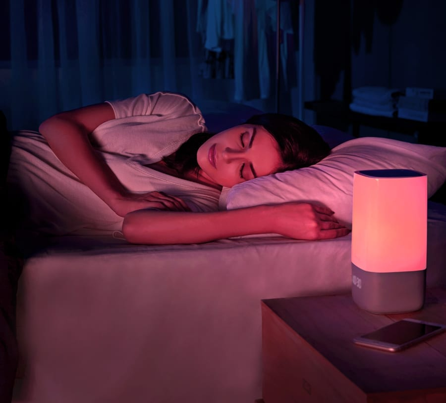 AH Beard Nox Smart Sleep Light available at McKenzie & Willis