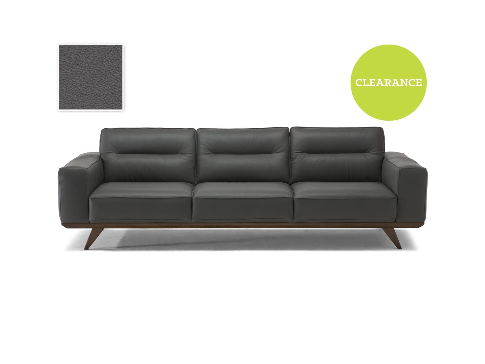 Editions C006 Achille 064 Large Sofa 25TD Leather 227838