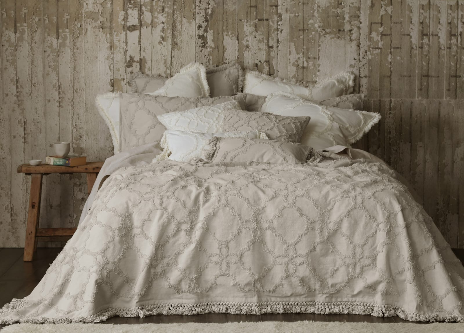 MM Linen Clover Bedspread Set available at McKenzie & Willis
