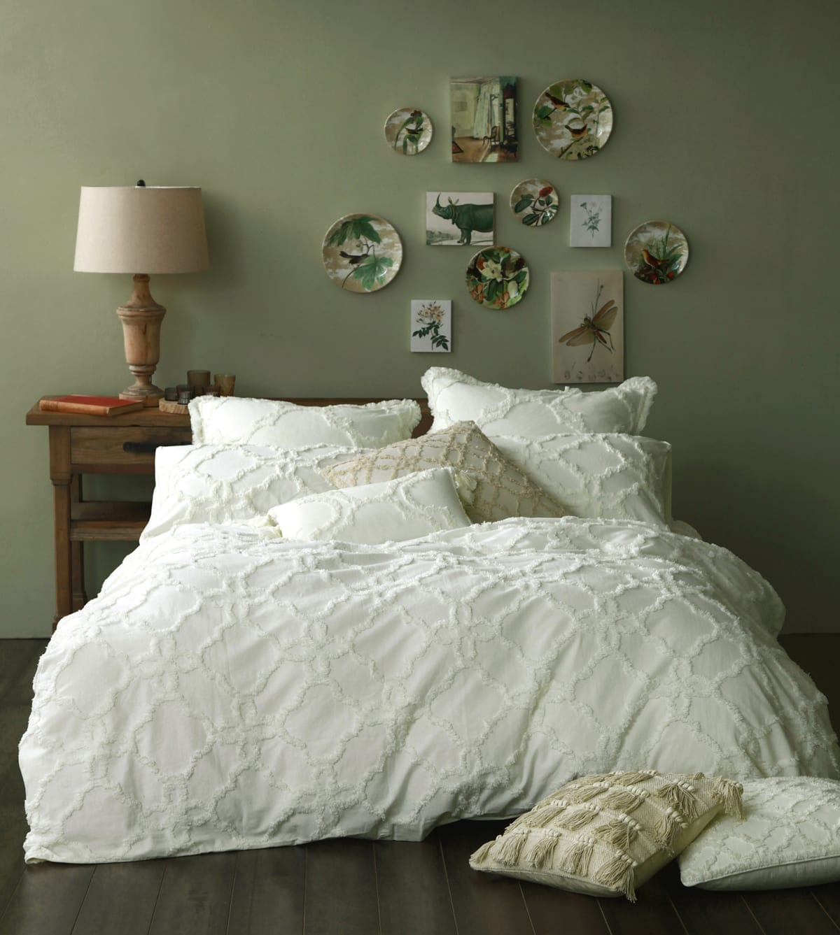 MM Linen Clover Duvet Set