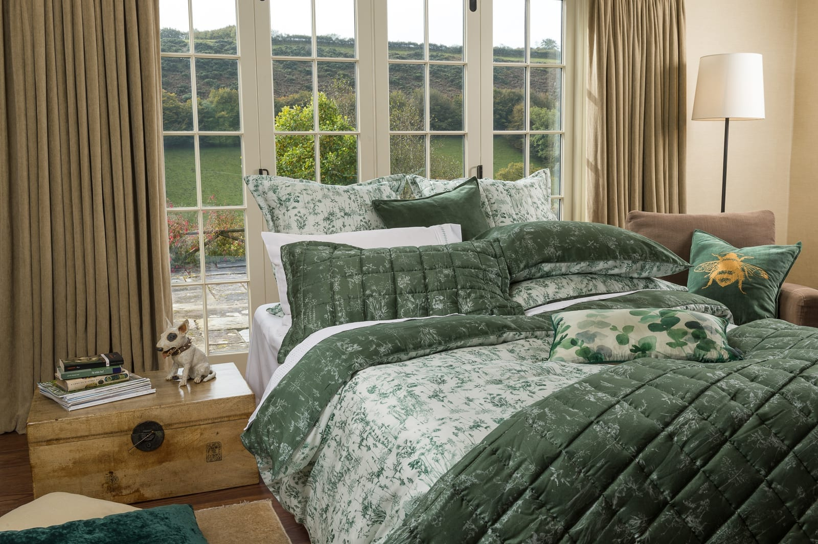 MM Linen Meadow Comforter and Duvet available at McKenzie & Willis