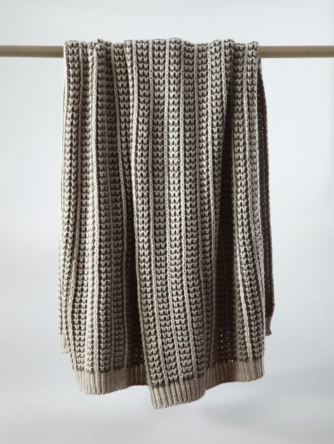 MM Linen Mocha Throw