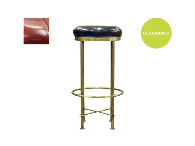Pure Home Evan Bar Stool Red 227801