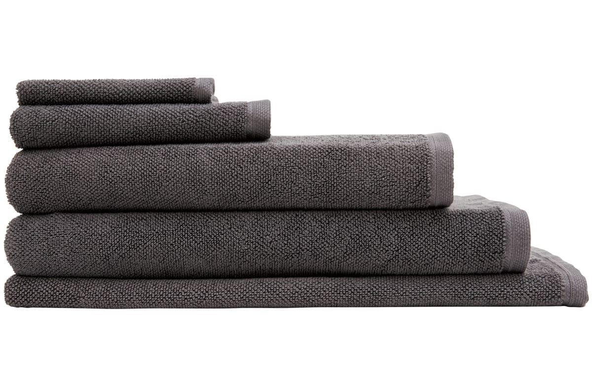 Cotton Twist Graphite TowelStack