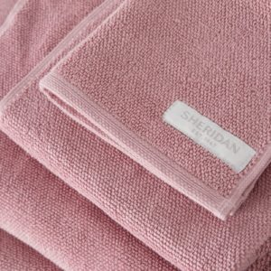 Sheridan Cotton Twist towels in Rosebud available at McKenzie & Willis