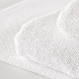 Sheridan Cotton Twist towels in White available at McKenzie & WIllis