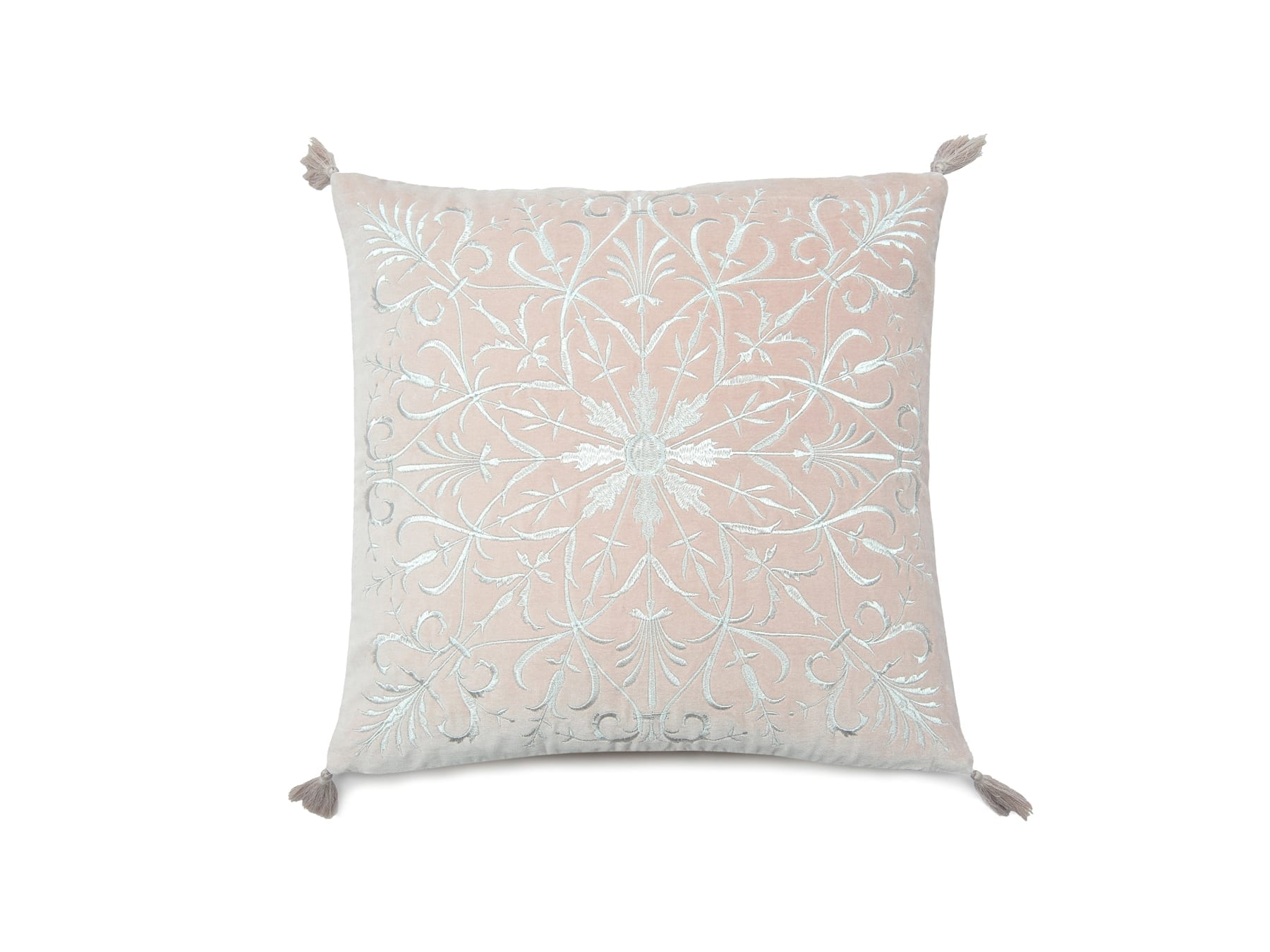 MM Linen Constantine Cushion in Rosewood available at McKenzie & Willis