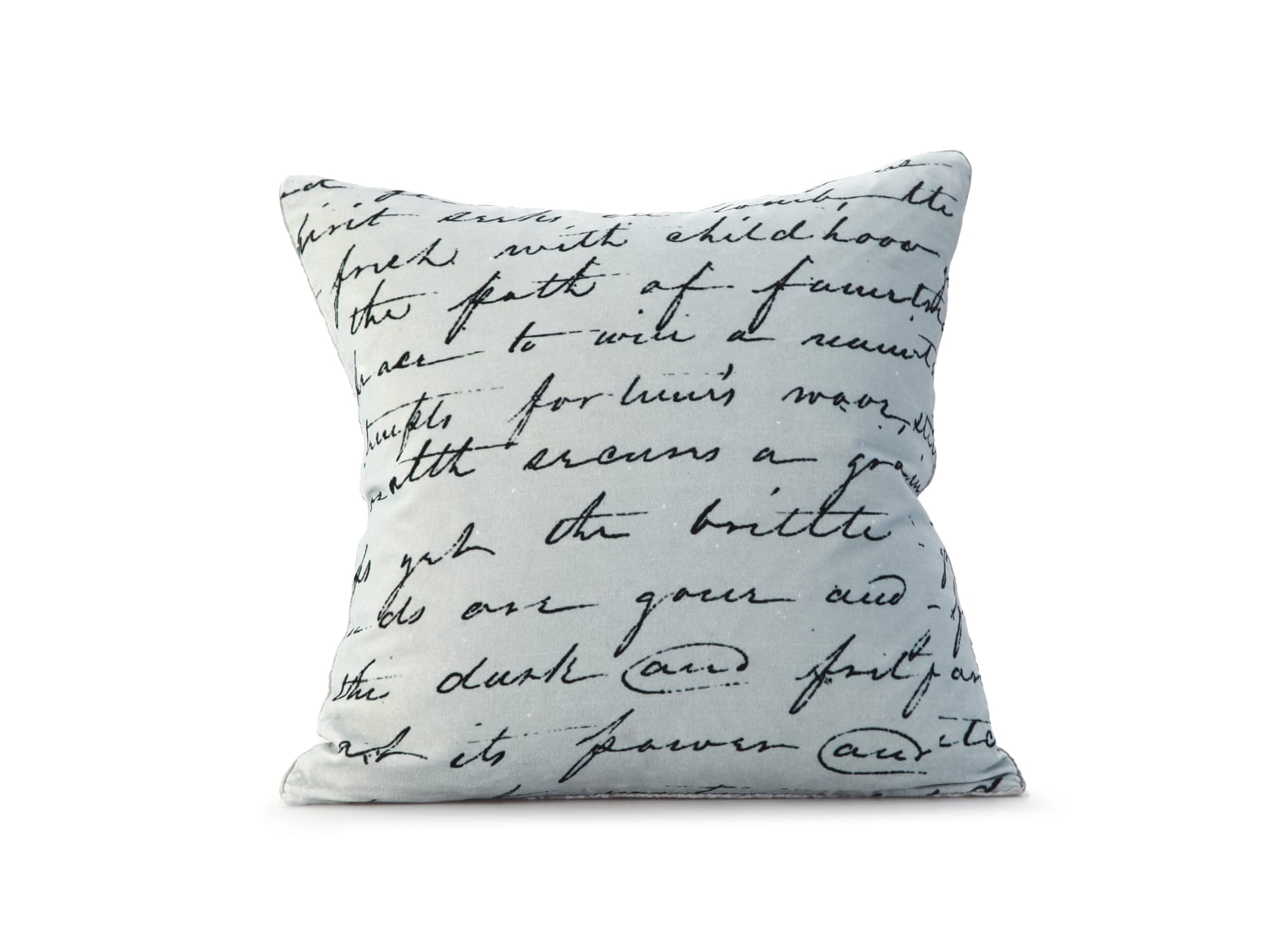 MM Linen Love Poem Cushion available at McKenzie & Willis