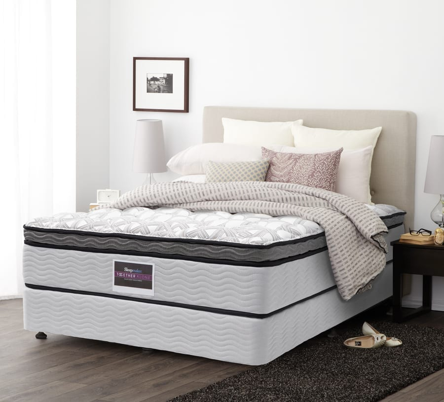SleepMaker beds available at McKenzie & Willis