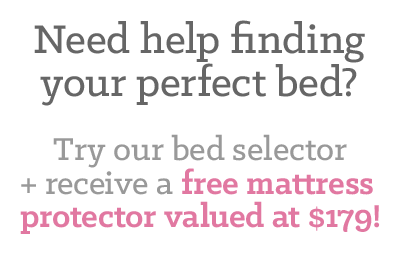 Try our bed selector