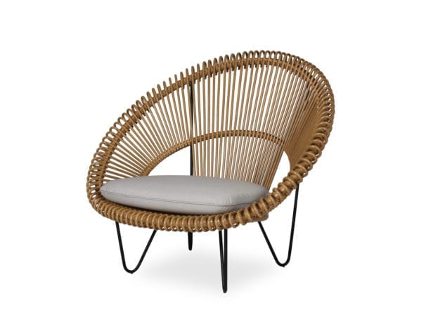 Vincent Sheppard Roy Cocoon Chair Camel