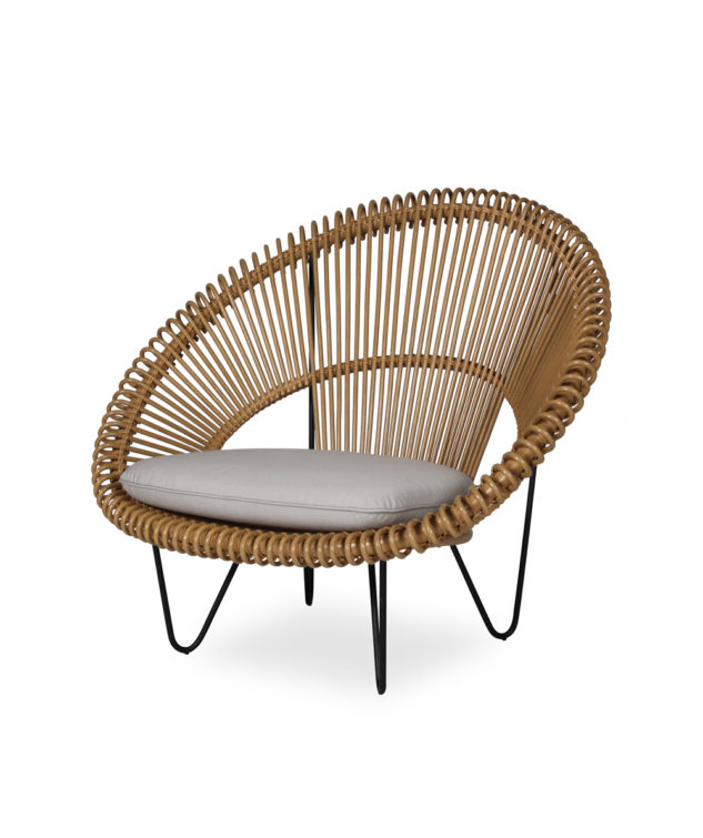 Vincent Sheppard Roy Cocoon Chair Camel Clear Cut 633x755