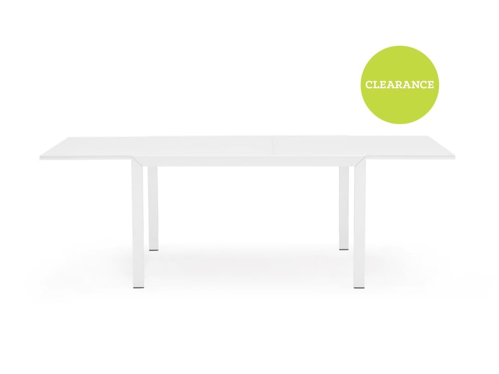 Connubia Key Extension Dining Table in White
