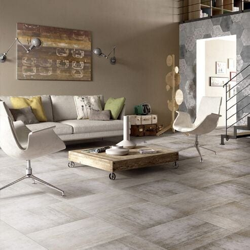 Giovanni Industry Porcelain Tiles Graphite