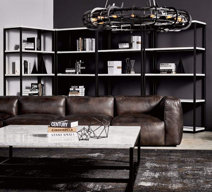 Halo Tribeca Leather Sofa