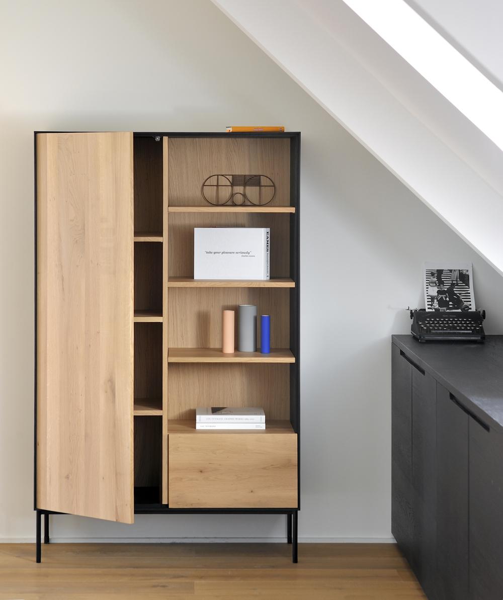 Ethnicraft Blackbird Storage Cupboard