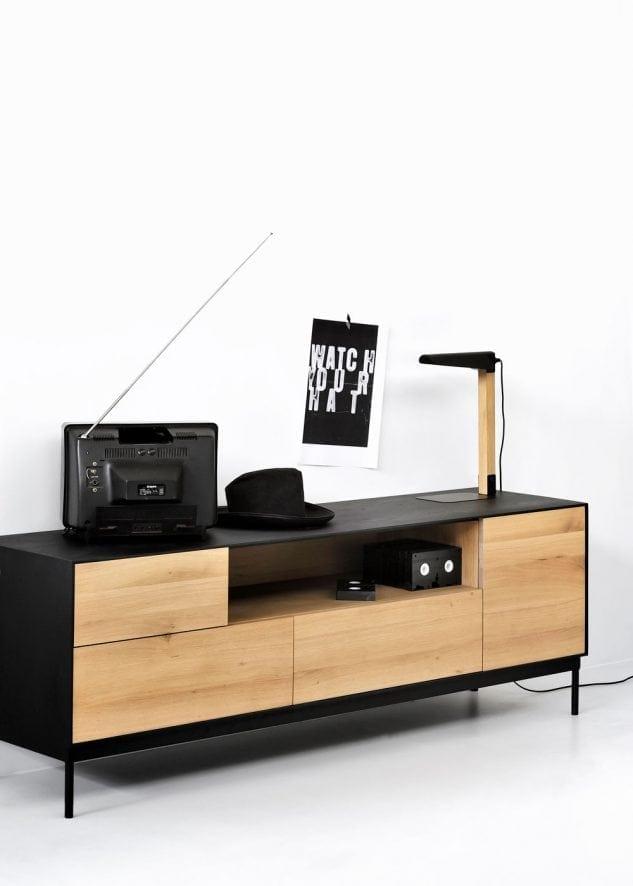 Ethnicraft Blackbird TV Cabinet