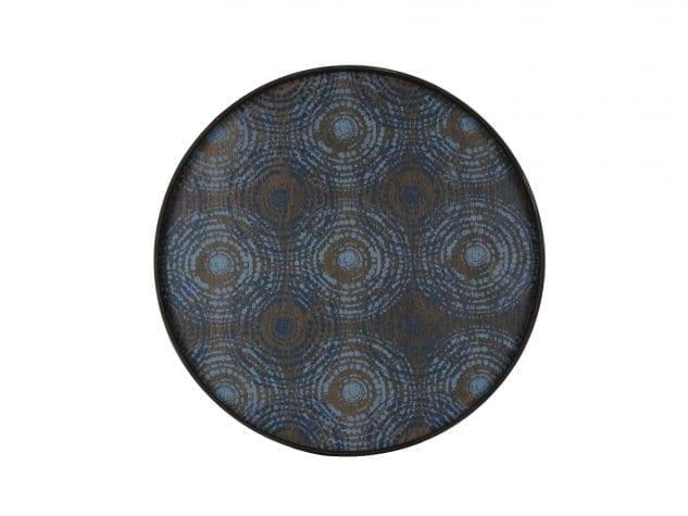 Notre Monde Large Round Tray (Wood) - Seaside Beads