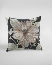 MM Linen Magnolia Cushion Charcoal