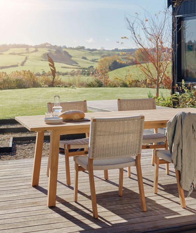 Devon St Clair Teak Outdoor Dining Table