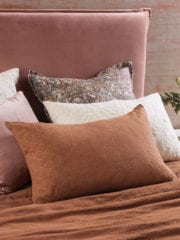 Bianca Lorenne Sashiko Cinnamon Pillowcase